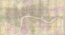 PLAN of the Cities of LONDON and WESTMINSTER the Borough of SOUTHWARK and PARTS adjoining Shewing every HOUSE. By R. Horwood.